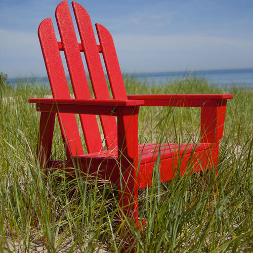 Long Island POLYWOOD Adirondack Dining Chair