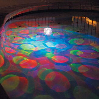 Underwater 5-Color Pool Light