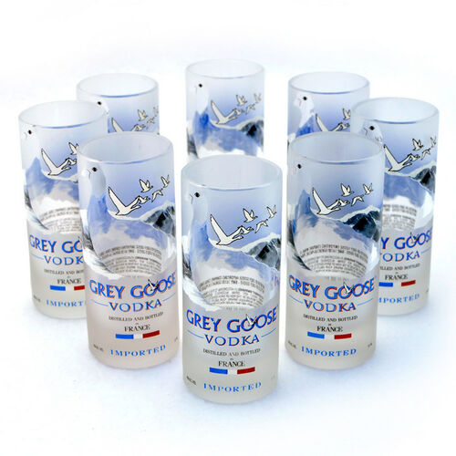 Grey Goose Shot Glasses - Set of 8