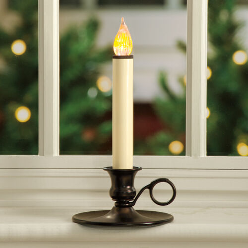 Vintage Cordless LED Window Candle
