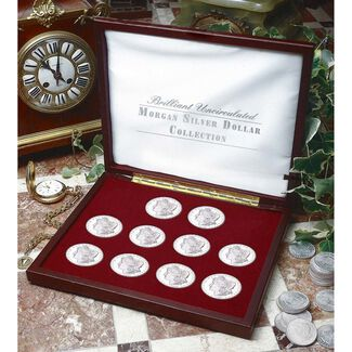 Brilliant Uncirculated Morgan Silver Dollar Collection