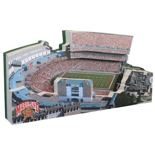 Maryland Terrapins/Byrd Stadium Replica w/ Display Case