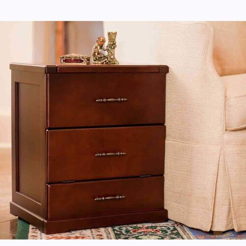 3-in-1 Night Stand Drawer Pet Step