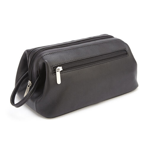 Royce Colombian Leather Toiletry Bag