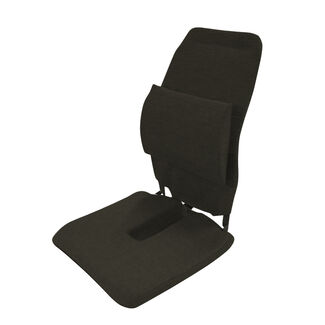 Sacro-Ease Back and Seat Cushion with Padding and Tailbone Cut-Out