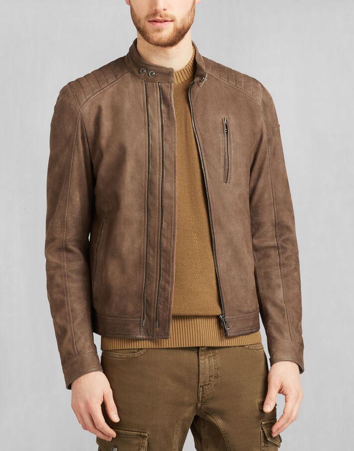 Leigham Jacket Dusty Brown Belstaff