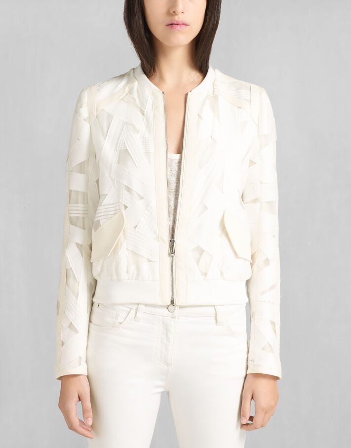 White Cotton Jackets - Belstaff