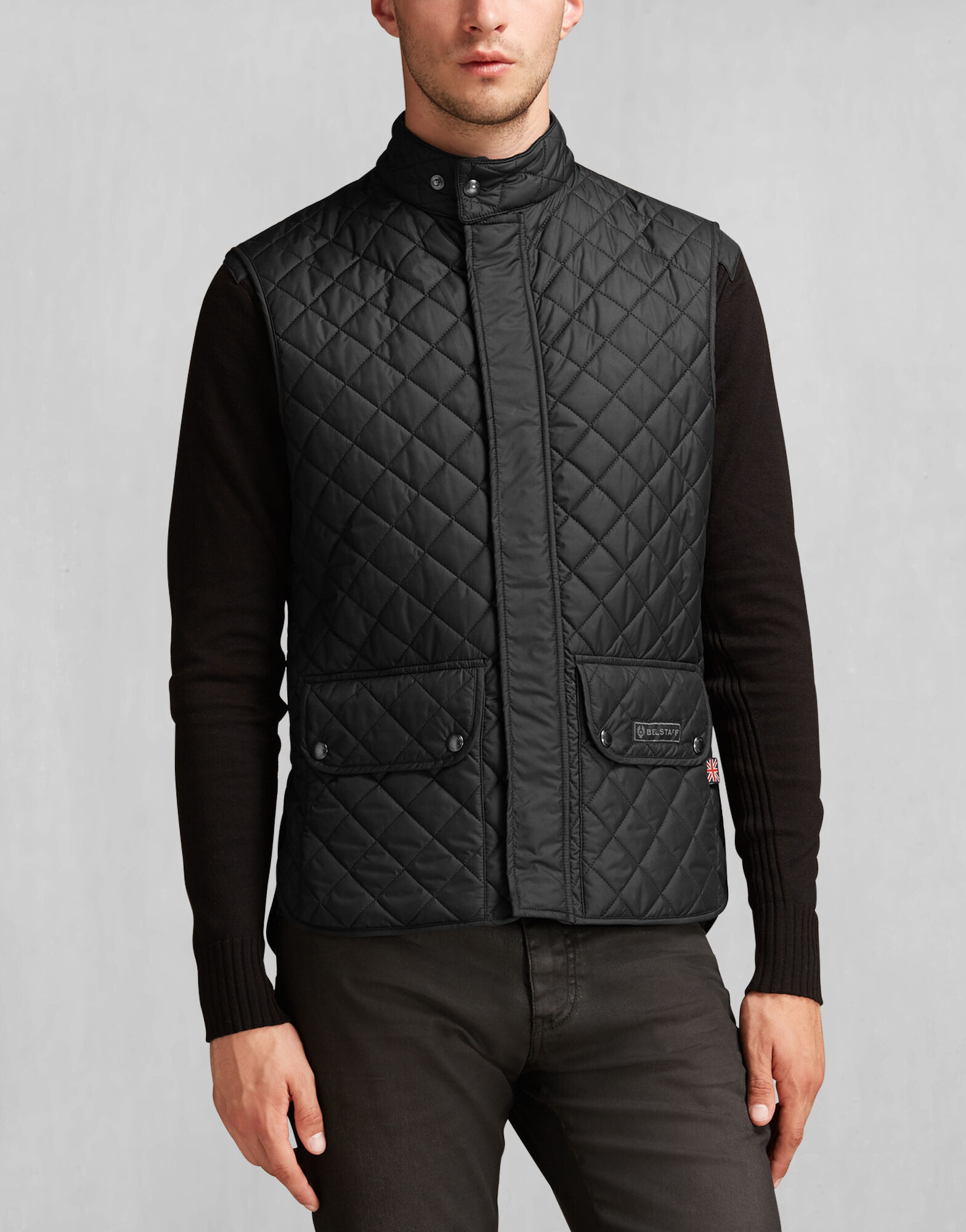Quilted jacket mens fashion 31