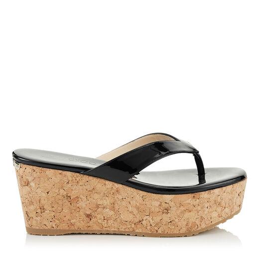 designer wedges premium cork wedge shoes amp sandals