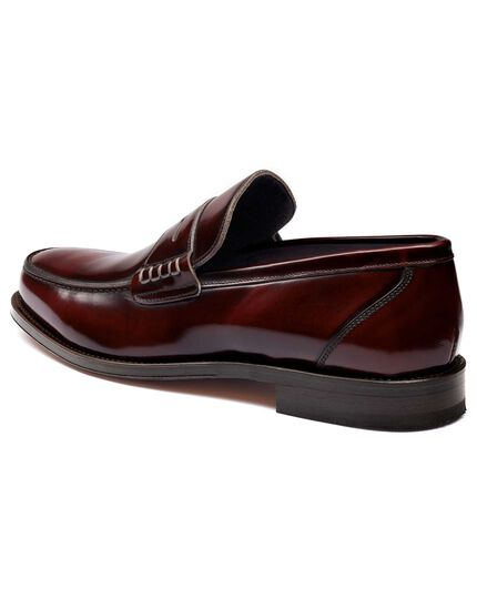 Burgundy Harlyn loafers