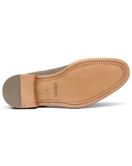 Lambourne Derby-Schuhe aus Wildleder in Grau