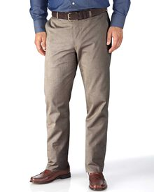 Stone slim fit stretch cavalry twill chinos