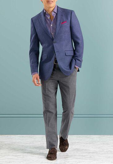 How in blue blazers?