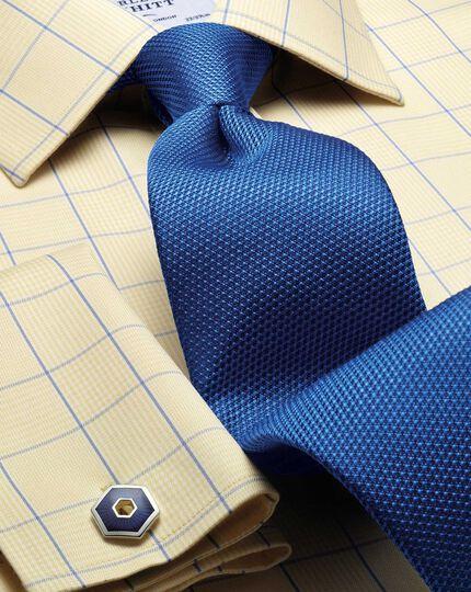 Royal silk classic plain tie