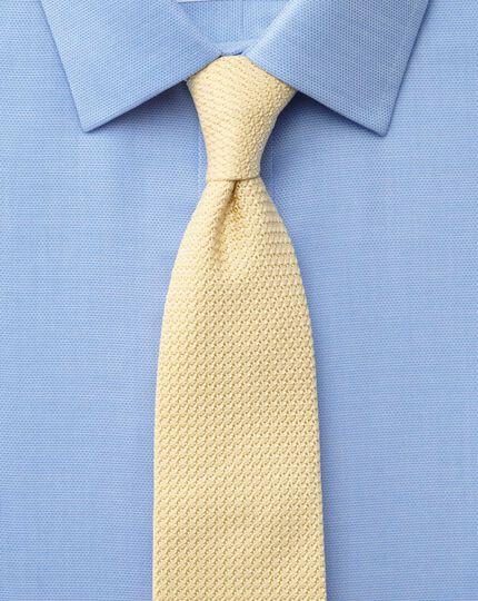 Bügelfreies Extra Slim Fit Hemd in himmelblau mit Minipunkten