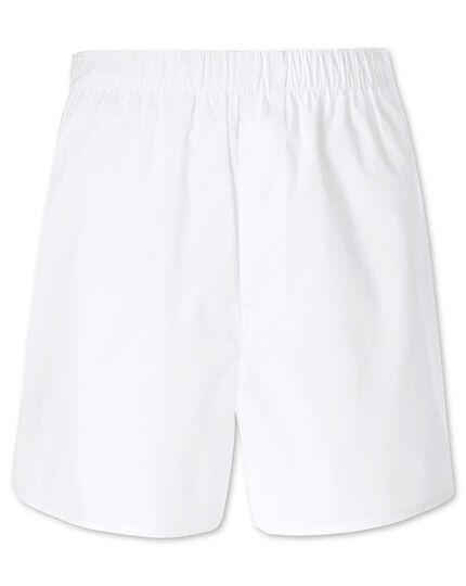 Boxershorts in Weiß