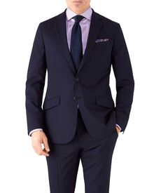 Slim Fit Performance Anzug Sakko in Marineblau