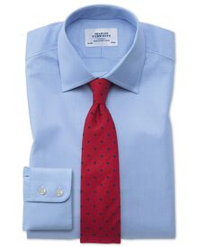 Slim fit Oxford sky blue shirt