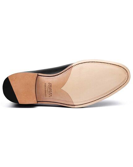 Black Bilberry brogue wholecut shoe