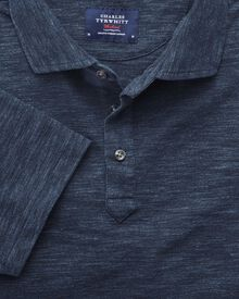 Denim blue polo