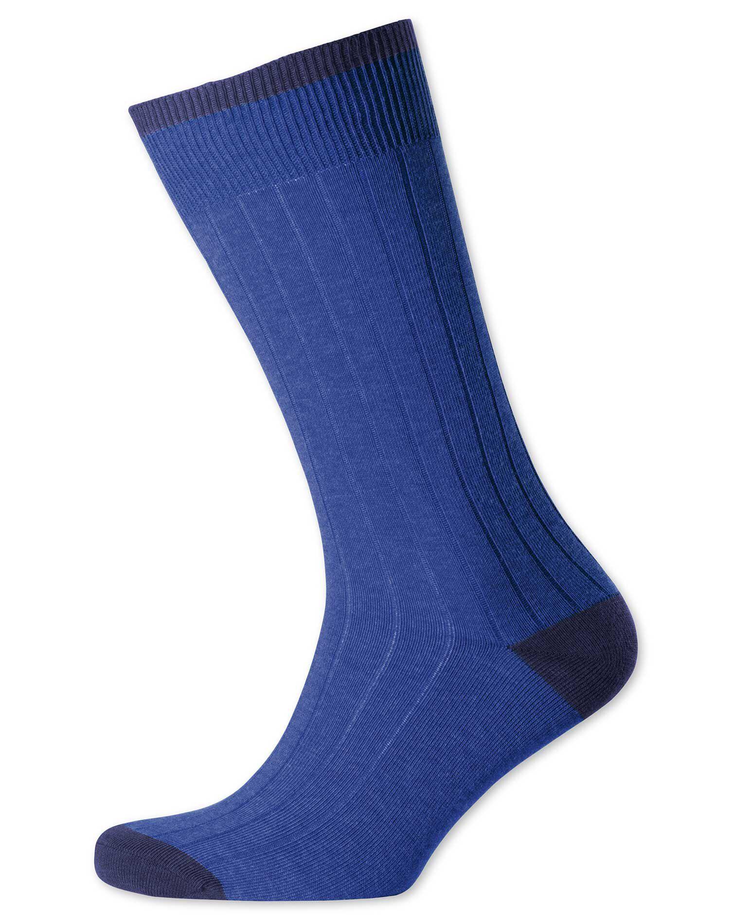 Royal Ribbed Socks Size Medium by Charles Tyrwhitt