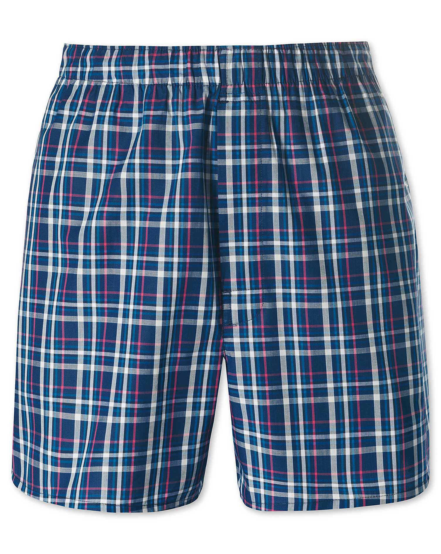 Royal Tartan Woven Boxers Size Medium by Charles Tyrwhitt