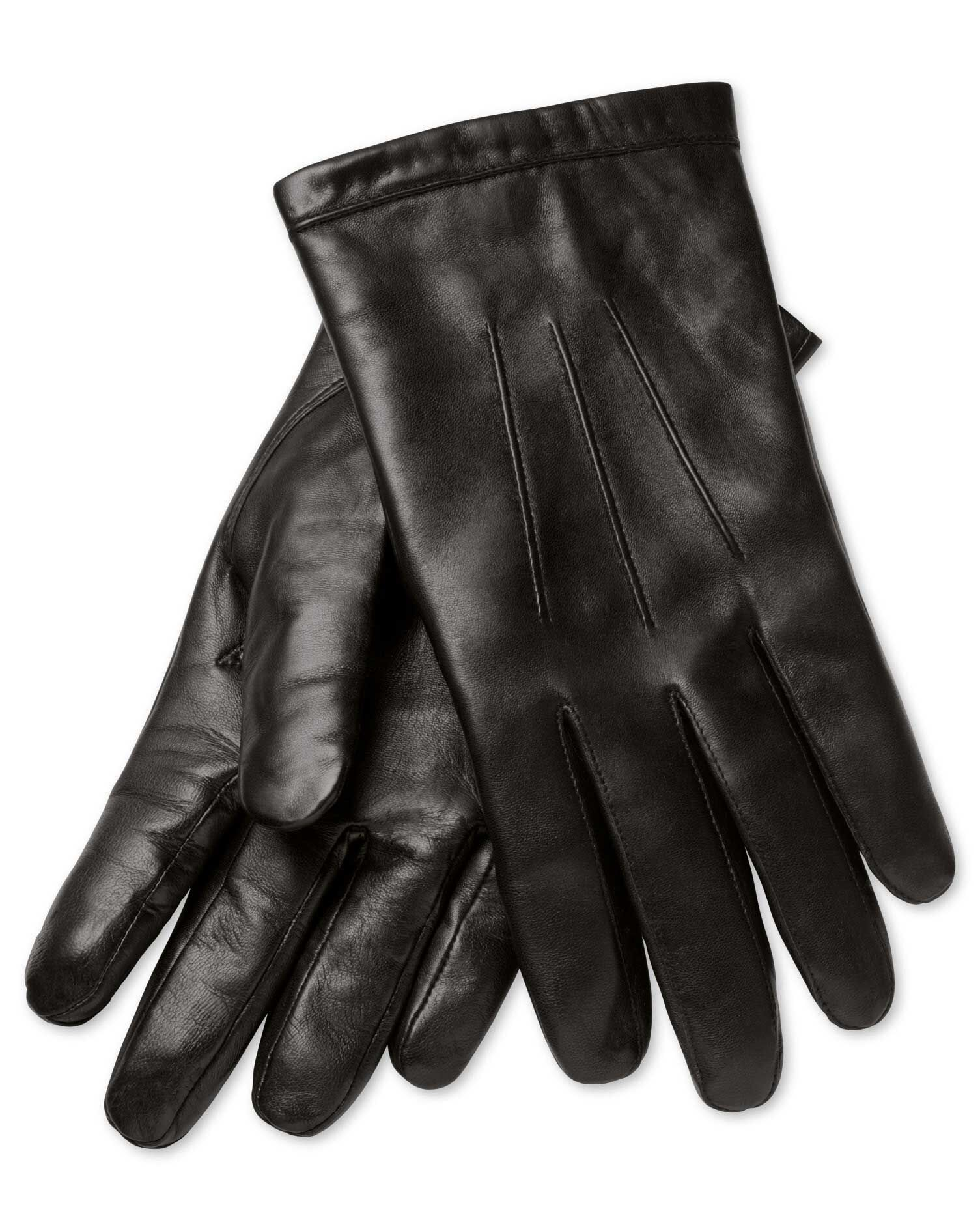 Childrens black leather gloves - History Of Vintage Men S Gloves 1900 To 1960s Charles Tyrwhitt Black Leather Gloves 39 95