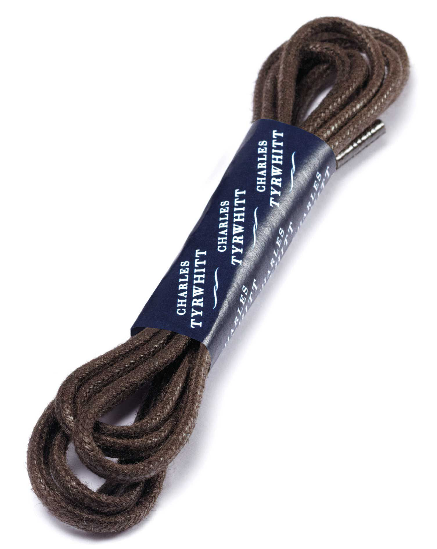 Brown Shoe Laces by Charles Tyrwhitt