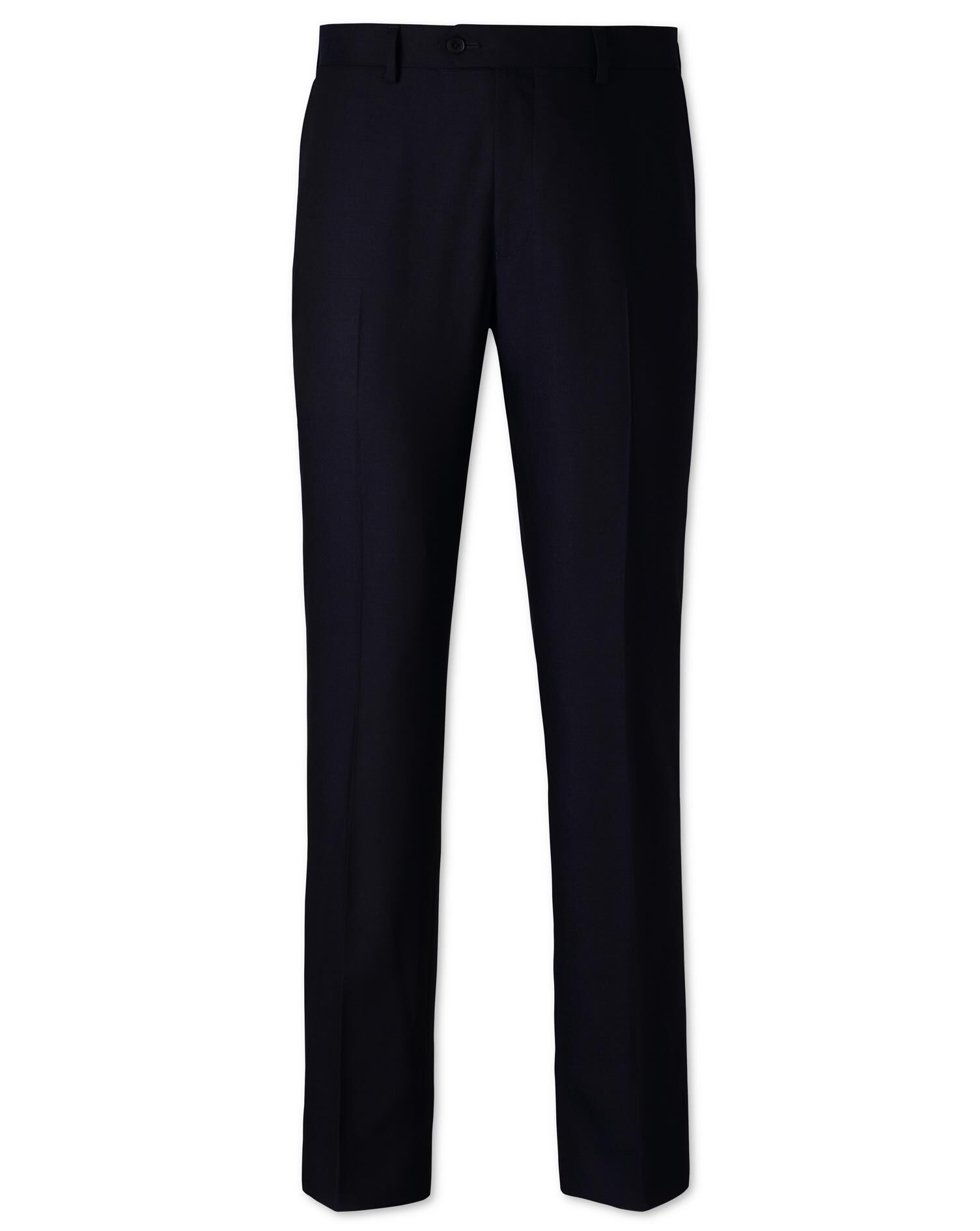 Navy Slim Fit Business Suit Trousers Size W36 L30 by Charles Tyrwhitt