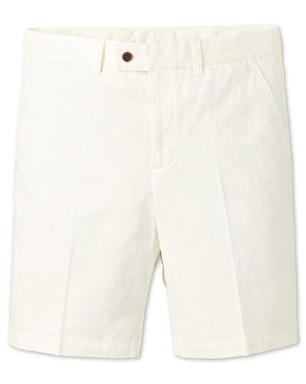 Chalk slim fit chino shorts