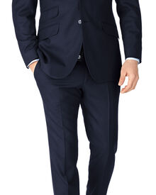 Slim Fit Serge Luxus Anzug in marineblau