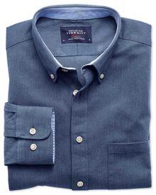 Slim Fit Oxfordhemd in Blau