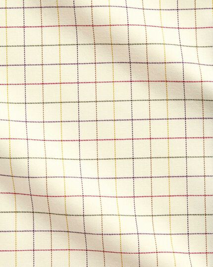 Slim Fit Hemd mit Bunten Country-Karos