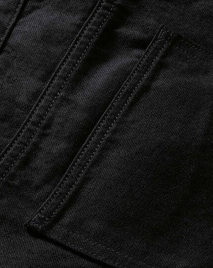 Black slim fit 5 pocket jeans