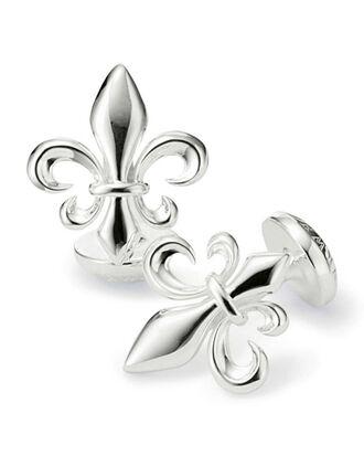 Fleur-de-Lys cuff links