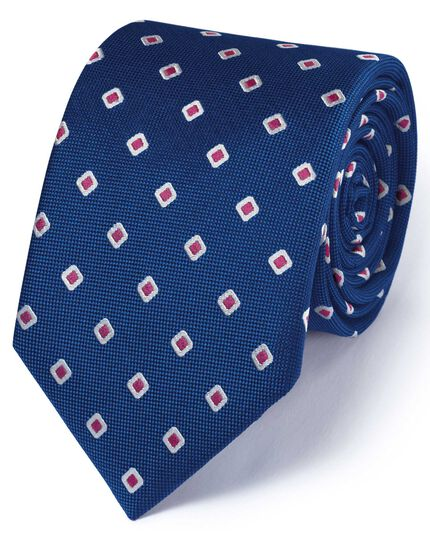 Royal silk classic Oxford square tie