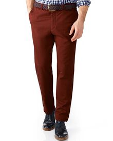 Copper extra slim fit flat front chinos