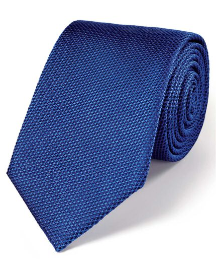 Royal silk classic plain tie