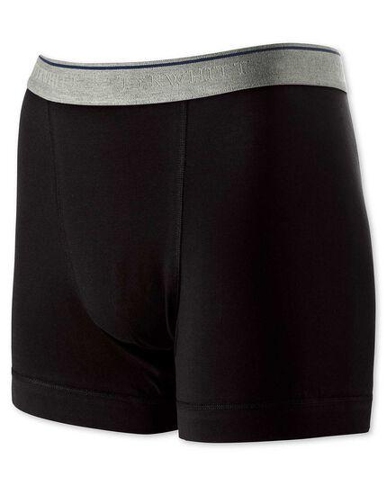 Jersey Unterhosen in Schwarz