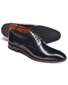 Blue Grosvenor Derby shoes