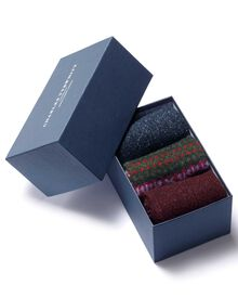 Multi chunky sock gift box