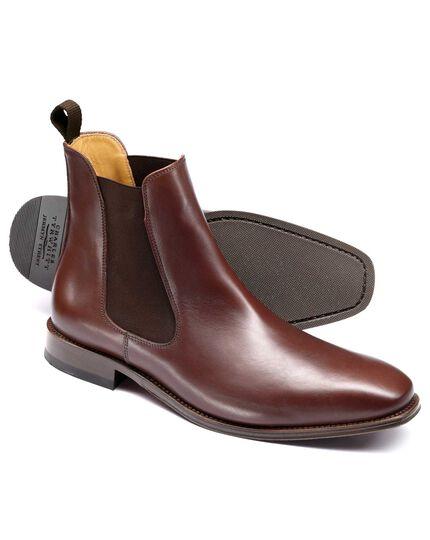 Brown Montagu Chelsea boots