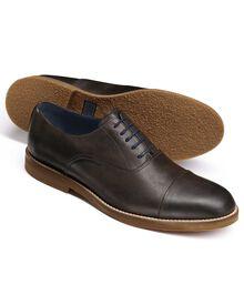 Highbury Oxford-Schuh mit Zehenkappe in braun