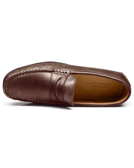 Brown Langford driving shoes