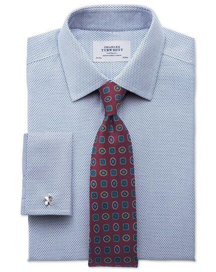 Burgundy silk English luxury medallion tie