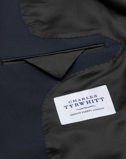 Slim Fit Smoking Sakko mit Schalkragen in Marineblau