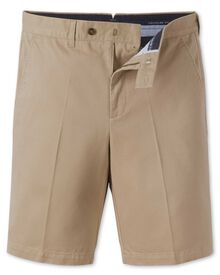Slim Fit Chino-Shorts in beige