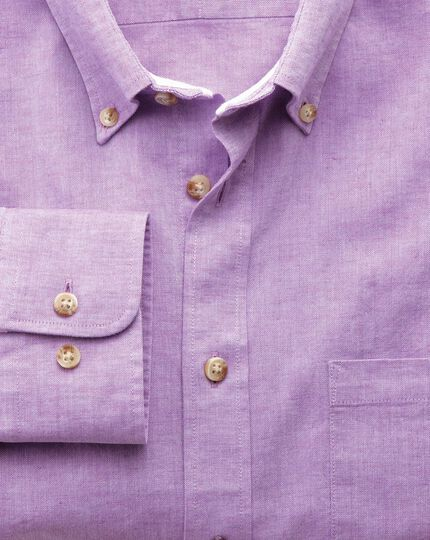 Classic fit lilac shirt