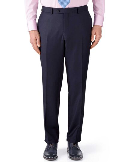Ink classic fit birdseye travel suit pants