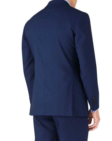 Royal slim fit crepe business suit jacket